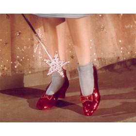 Рубиново-Красные Босоножки  Дороти Гейл