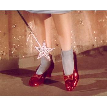 Рубиново-Красные Босоножки  Дороти Гейл , Знаменитые second hand Европы
