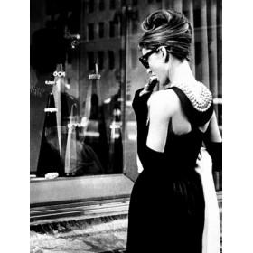 Черное вечернее платье Одри Хепберн от Юбера де Живанши