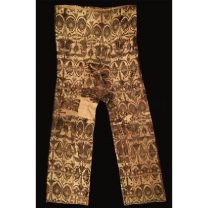 Согдийские шелковые штаны
